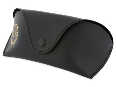 Ochelari de soare Ray-Ban RB4068 - 601  - Original leather case (illustration photo)