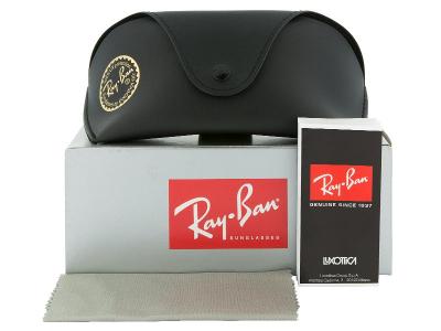 Ochelari de soare Ray-Ban RB4068 - 894/58 POLARIZATI  - Preview pack (illustration photo)