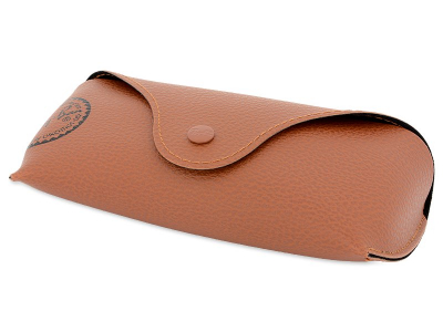 Ochelari de soare Ray-Ban RB3449 - 001/13  - Original leather case (illustration photo)