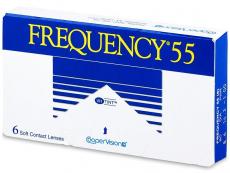 Lentile de contact lunare - Frequency 55 (6lentile)