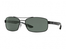 Ochelari de soare Rectangular - Ray-Ban RB8316 - 002/N5 POL