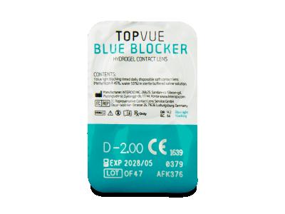 TopVue Blue Blocker (5 perechi) - Vizualizare ambalaj