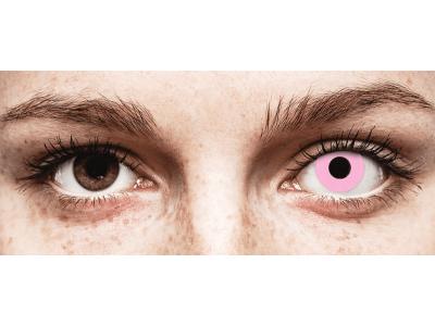 CRAZY LENS - Barbie Pink - lentile zilnice fără dioptrie (2 lentile)