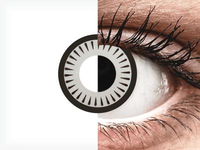 CRAZY LENS - Byakugan - lentile zilnice fără dioptrie (2 lentile)