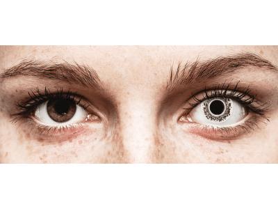 CRAZY LENS - Lord Snow - lentile zilnice fără dioptrie (2 lentile)