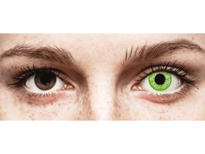 CRAZY LENS - Joker - lentile zilnice cu dioptrie (2 lentile)