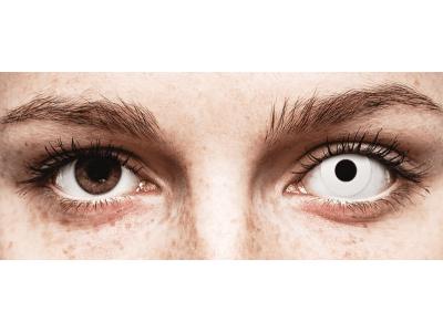CRAZY LENS - WhiteOut - lentile zilnice fără dioptrie (2 lentile)