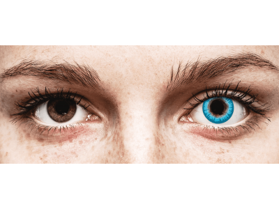 CRAZY LENS - White Walker - lentile zilnice fără dioptrie (2 lentile)