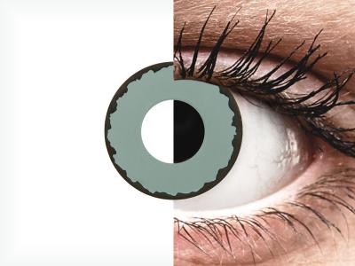 CRAZY LENS - Zombie Virus - lentile zilnice fără dioptrie (2 lentile)