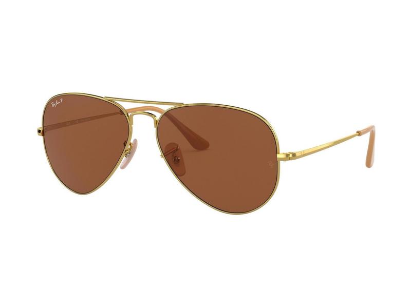 Ochelari de soare Ray-Ban Aviator Metal II RB3689 906447