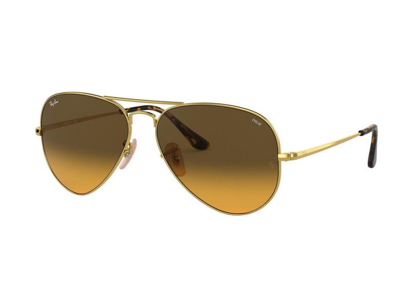 Ochelari de soare Ray-Ban Aviator Metal II RB3689 9150AC
