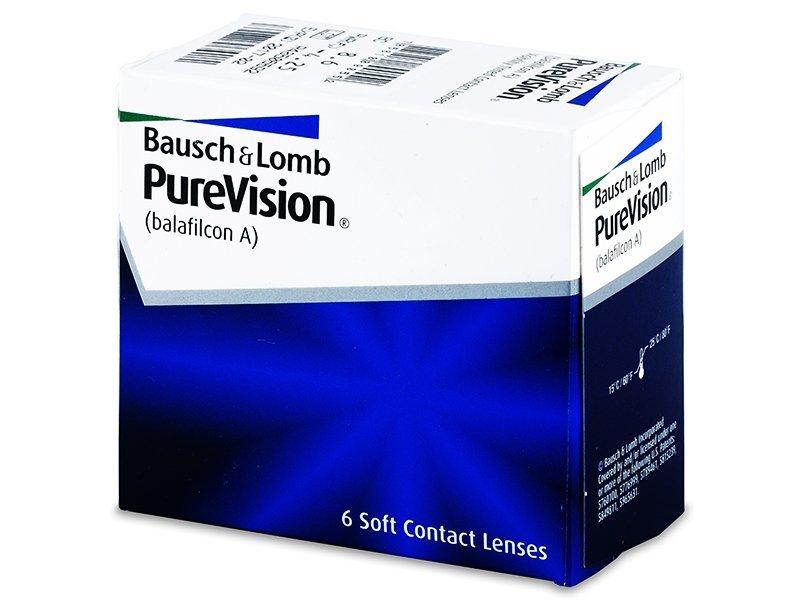 PureVision (6lentile) - Lentile de contact lunare - Bausch and Lomb