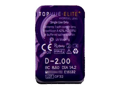 TopVue Elite+ (180 lentile) - Vizualizare ambalaj