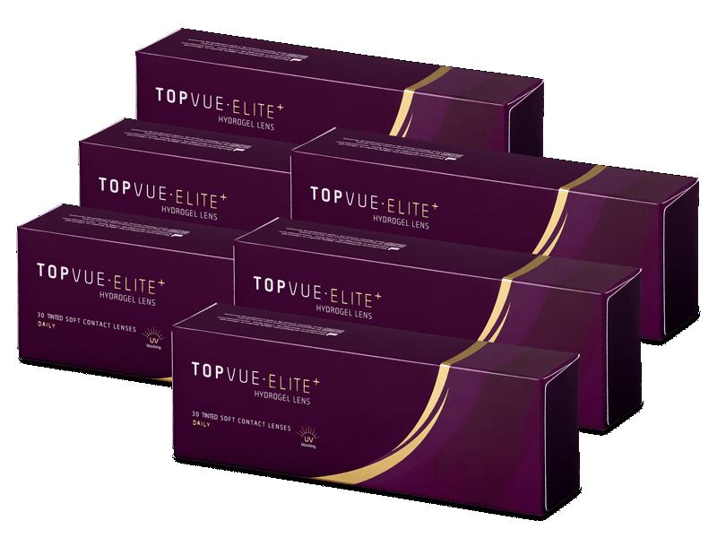 TopVue Elite+ (180 lentile) - Lentile de contact de unică folosință