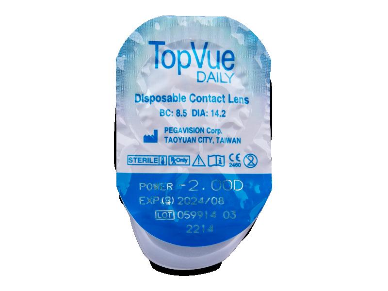 TopVue Daily (90 lentile) - Vizualizare ambalaj