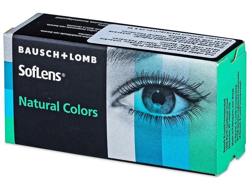 SofLens Natural Colors - fără dioptrie (2 lentile) - Lentile de contact colorate - Bausch and Lomb
