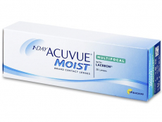 Lentile de contact de unică folosință - 1 Day Acuvue Moist Multifocal (30 lentile)