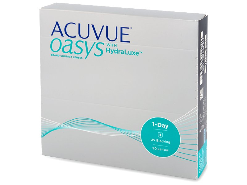 Acuvue Oasys 1-Day (90 lentile) - Lentile de contact de unică folosință - Johnson and Johnson