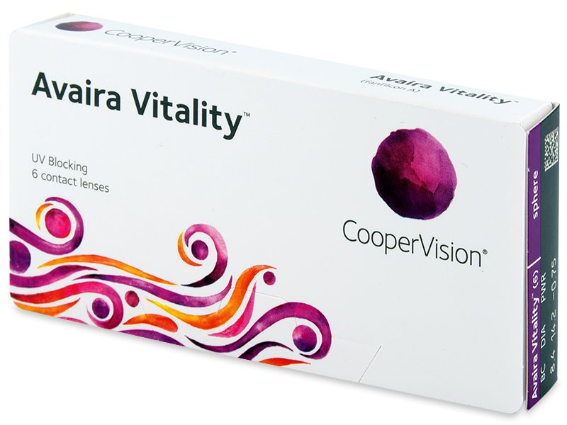 Avaira Vitality (6 lentile) - Contact lenses