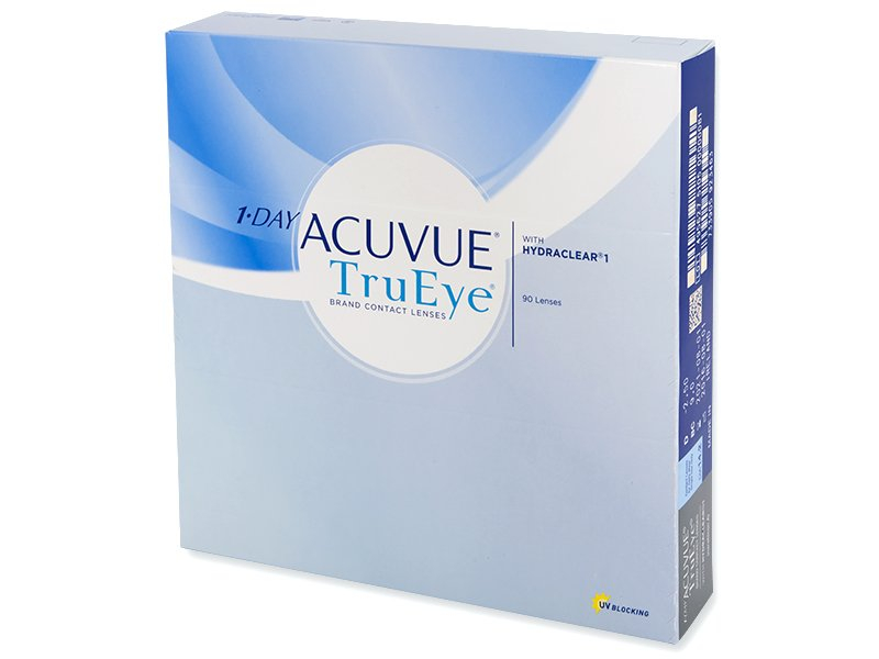 1 Day Acuvue TruEye (90 lentile) - Lentile de contact de unică folosință - Johnson and Johnson
