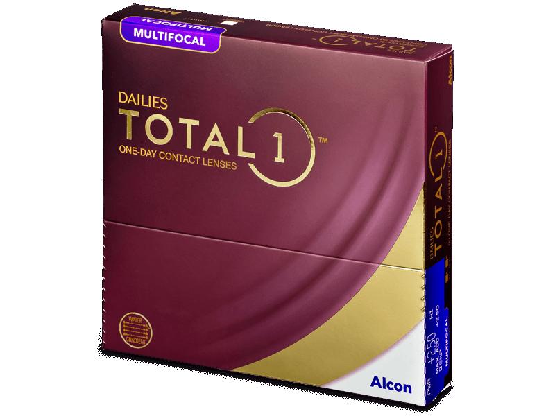 Dailies TOTAL1 Multifocal (90 lentile) - Lentile de contact multifocale