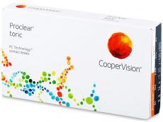 Lentile de contact torice / pentru astigmatism - Proclear Toric (3 lentile)