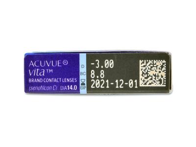 Acuvue Vita (6 lentile) - Parametrii lentilei