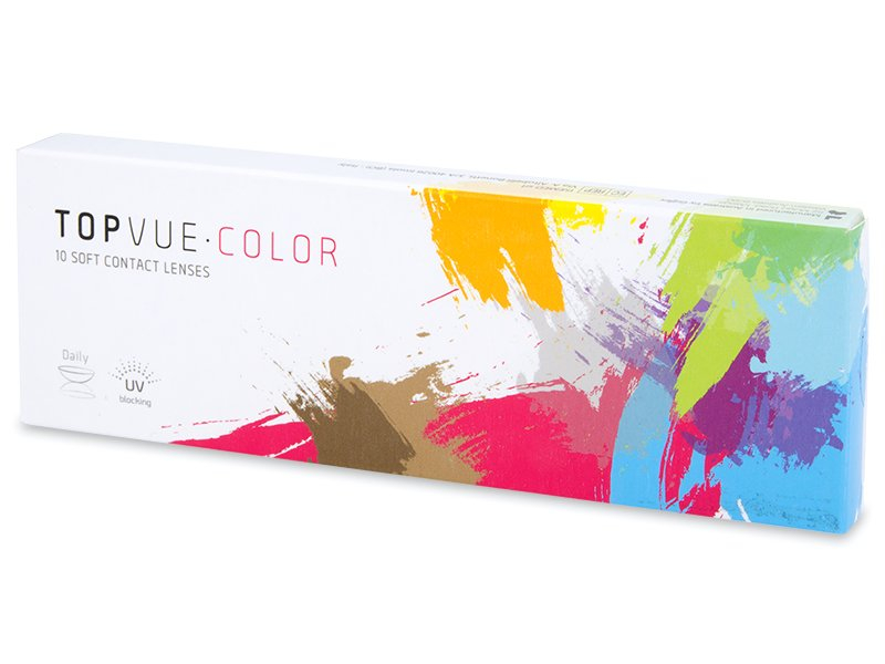 TopVue Color Daily - fără dioptrie (10 lentile) - Lentile de contact colorate - TopVue