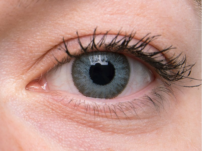 Soft grey on grey eye