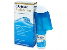 Lacrimi artificiale - Picături oftalmice Artelac TripleAction 10 ml