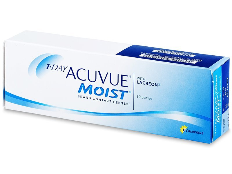 1 Day Acuvue Moist (30lentile) - Lentile de contact de unică folosință - Johnson and Johnson
