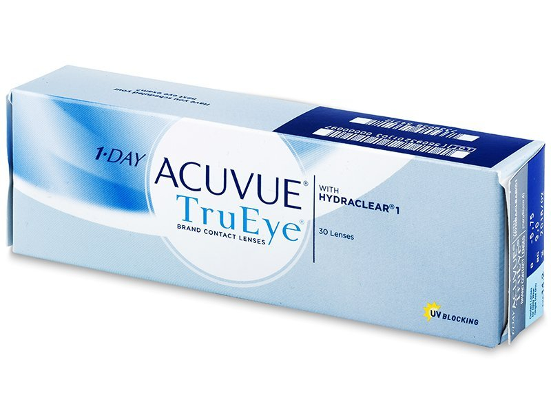1 Day Acuvue TruEye (30 lentile) - Lentile de contact de unică folosință - Johnson and Johnson