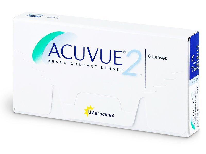 Lentile de contact bi-săptămânale - Acuvue 2 (6lentile)