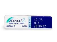 Acuvue 2 (6lentile) - Parametrii lentilei