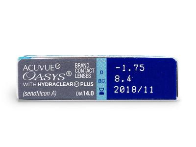 Acuvue Oasys (6lentile) - Parametrii lentilei