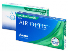 Lentile de contact torice / pentru astigmatism - Air Optix for Astigmatism (3 lentile)