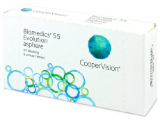 Lentile de contact CooperVision - Biomedics 55 Evolution (6lentile)