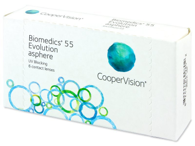 Biomedics 55 Evolution (6 lentile)