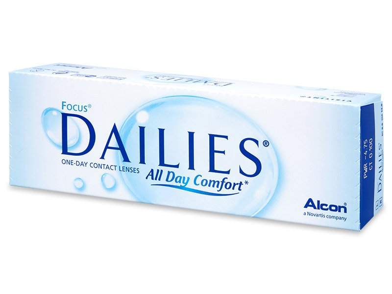 Focus Dailies All Day Comfort (30 lentile) - Lentile de contact de unică folosință - Alcon