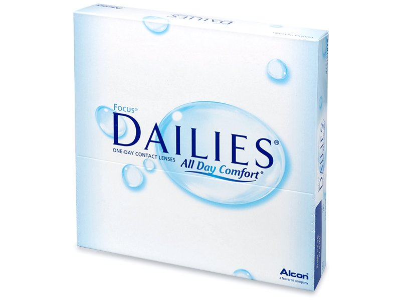 Dailies All Day Comfort (90 lentile) - Lentile de contact de unică folosință - Alcon