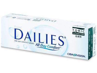 Focus Dailies Toric (30lentile) - Lentile de contact torice