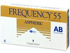 Lentile de contact CooperVision - Frequency 55 Aspheric (6lentile)