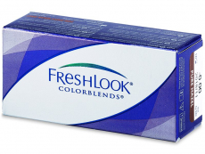 Lentile de contact colorate - FreshLook ColorBlends  - cu dioptrie (2 lentile)