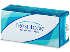Lentile de contact colorate - FreshLook Dimensions - fără dioptrie (2lentile)