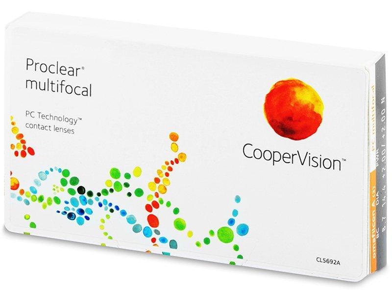 Lentile de contact multifocale - Proclear Multifocal (3lentile)