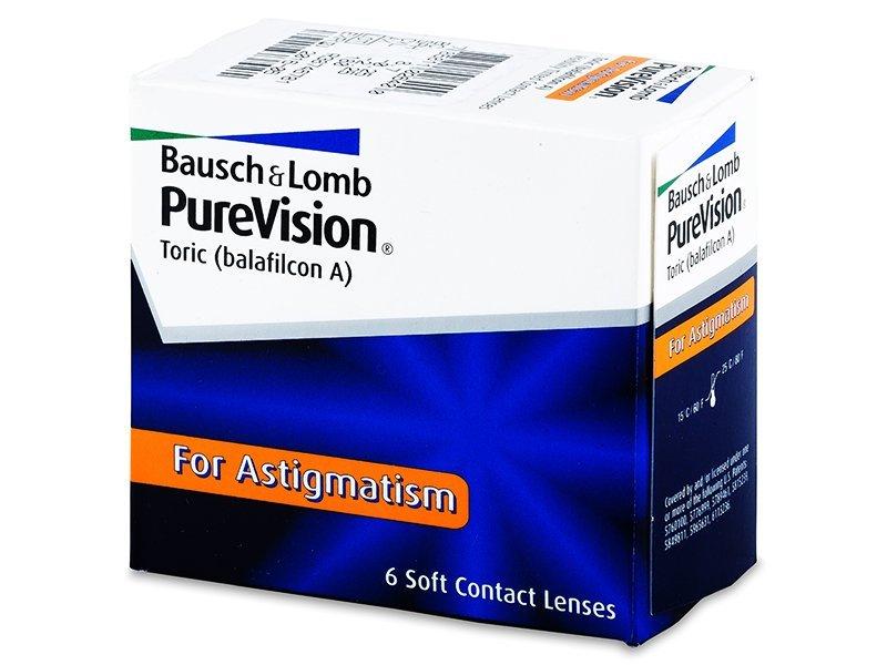 PureVision Toric (6lentile) - Lentile de contact torice - Bausch and Lomb
