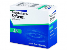 Lentile și accesorii Bausch and Lomb - SofLens 38 (6 lentile)