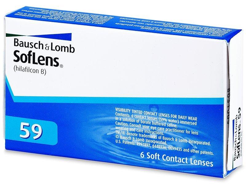 SofLens 59 (6lentile) - Lentile de contact lunare - Bausch and Lomb
