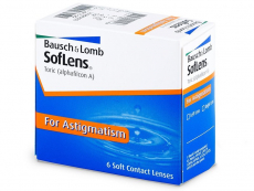 Lentile și accesorii Bausch and Lomb - SofLens Toric (6 lentile)