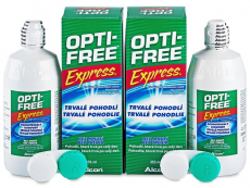 Soluție OPTI-FREE Express 2x355ml  - Design-ul vechi